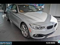 BMW Certified, LOW MILES - 7,349! EPA 30 MPG Hwy/20 MPG