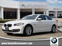 We are excited to offer this 2016 BMW 5 Series. Your
