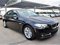 We are excited to offer this 2016 BMW 5 Series. This