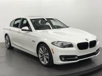 EPA 34 MPG Hwy/23 MPG City! 528i trim. BMW Certified,