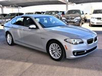 We are excited to offer this 2016 BMW 5 Series. Drive