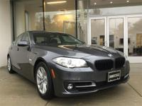 Low mileage 2016 BMW 528i xDrive in Mineral Gray