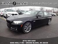 2016 BMW 5 Series 528i Xdrive...Features Include: