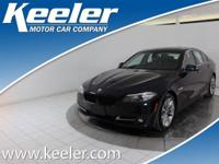 Certified. CARFAX One-Owner. 2016 BMW 5 Series