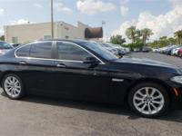 Recent Arrival! 31/20 Highway/City MPG 2016 BMW 5