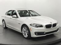 535i trim. EPA 30 MPG Hwy/20 MPG City! BMW Certified,