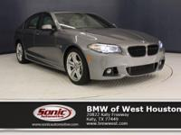 This 2016 BMW 535i has a Certified Clean Carfax, Key