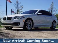 2016 BMW 5 Series 535i in Alpine White, This 5 Series