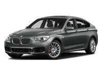 This 2016 BMW 5 Series 535i Gran Turismo in Space Gray