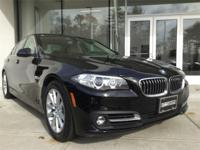 2016 BMW 535i xDrive in Jet Black; Cold Weather
