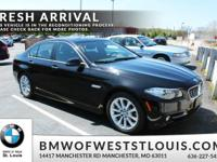 Designed for your driving pleasure, our 2016 BMW 535i