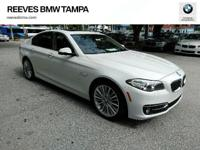 Excellent Condition, BMW Certified, CARFAX 1-Owner, LOW