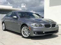 Meticulous 2016 Certified Pre Owned 528i with less than