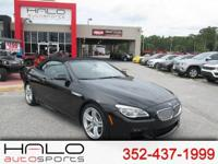 2016 BMW 640i CONVERTIBLE MSPORT ** HALO CERTIFIED- 140
