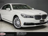 Options:  2016 Bmw 7 Series 740I|White/Beige|V6 3.0 L