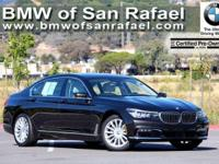 Options:  2016 Bmw 7 Series 4Dr Sdn 740I Rwd|4-Wheel