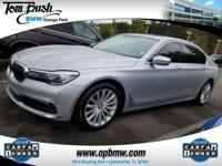 This outstanding example of a 2016 BMW 7 Series 740i is
