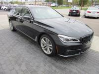 2016 BMW 7 Series 4D Sedan 750i xDrive xDrive 4.4L V8