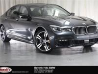 This Certified Pre-Owned 2016 BMW 750i xDrive is a One