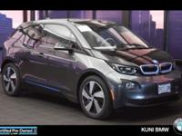 I3 trim. BMW Certified, CARFAX 1-Owner, LOW MILES -