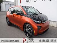 The future is here with our 2016 BMW i3 proudly