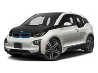 PRICED TO MOVE $800 below Kelley Blue Book! i3 trim.