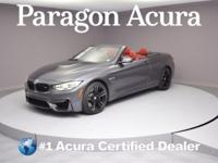 Executive Trade-In! 2016 BMW M4 DCT CARFAX One-Owner.