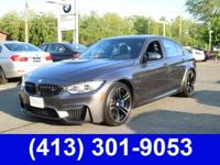 2016 BMW M3 Base Gray 3.0L I6 6-Speed Manual RWD