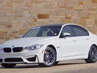 This 2016 BMW M3 has an original MSRP of $67,095.00