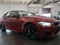 Options:  2016 Bmw M3|Sakhir Orange Metallic/Black|V6