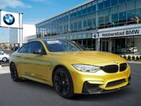 Absolutely stunning, this 2016 BMW M4 2DR CPE boasts