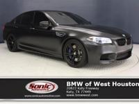 This 2016 BMW M5 is a One Owner vehicle Black Full