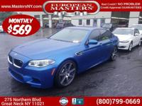 This Fantastic Blue (Monte Carlo Blue) 2016 BMW M5