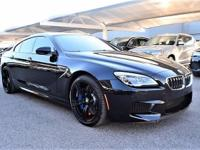 We are excited to offer this 2016 BMW M6. This 2016 BMW