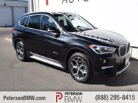 Roomy and refined, our 2016 BMW X1 xDrive28i looks