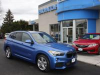 SUPER LOW MILEAGE, ONE OWNER, 2016 BMW X1 xDRIVE 28i,