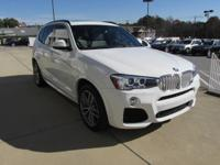We are excited to offer this 2016 BMW X3. This BMW