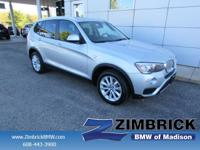 Options:  2016 Bmw X3 Awd 4Dr Xdrive28i|4 Cylinder