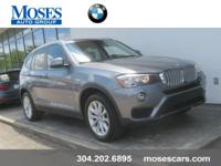 Check out this 2015 BMW X3 xDrive28i SAV with BMW's