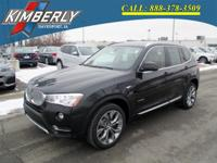 Introducing the 2016 BMW X3 xDrive28i! It delivers