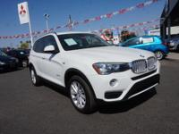 Don't miss out on this 2016 BMW X3 xDrive28i! It comes