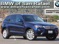 Options:  2016 Bmw X3-Series Awd 4Dr Xdrive28i|4
