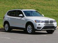 EPA 28 MPG Hwy/21 MPG City! BMW Certified, Superb