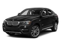 Recent Arrival! 2016 BMW X4 xDrive28i20/28 City/Highway
