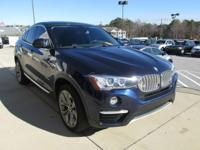 We are excited to offer this 2016 BMW X4. This BMW