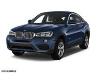 We are excited to offer this 2016 BMW X4. Your buying