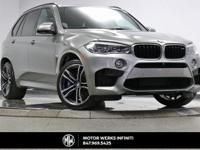 ~ ONE OWNER ~ CLEAN CARFAX ~ 2016 BMW X5 M ~ VERY RARE