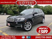 This Incredible Black 2016 BMW X5 3.5I Sport Utility