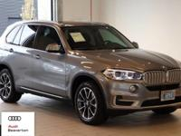 This 2016 BMW X5 is equipped with: All Wheel Drive,