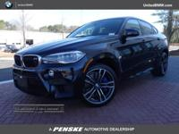 WAS $99,999. BMW Certified, LOW MILES - 8,946! X6 AWD